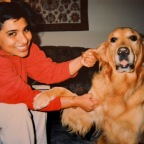 #tbt: Assisa, the first golden retriever I met